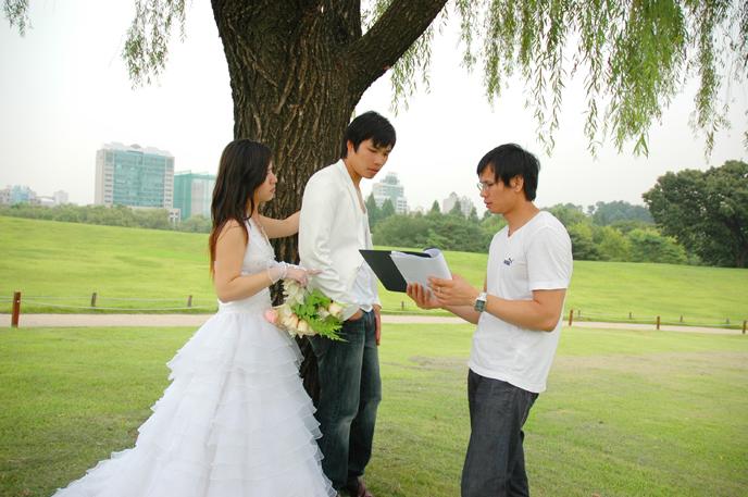 Hậu trường quay phim cưới