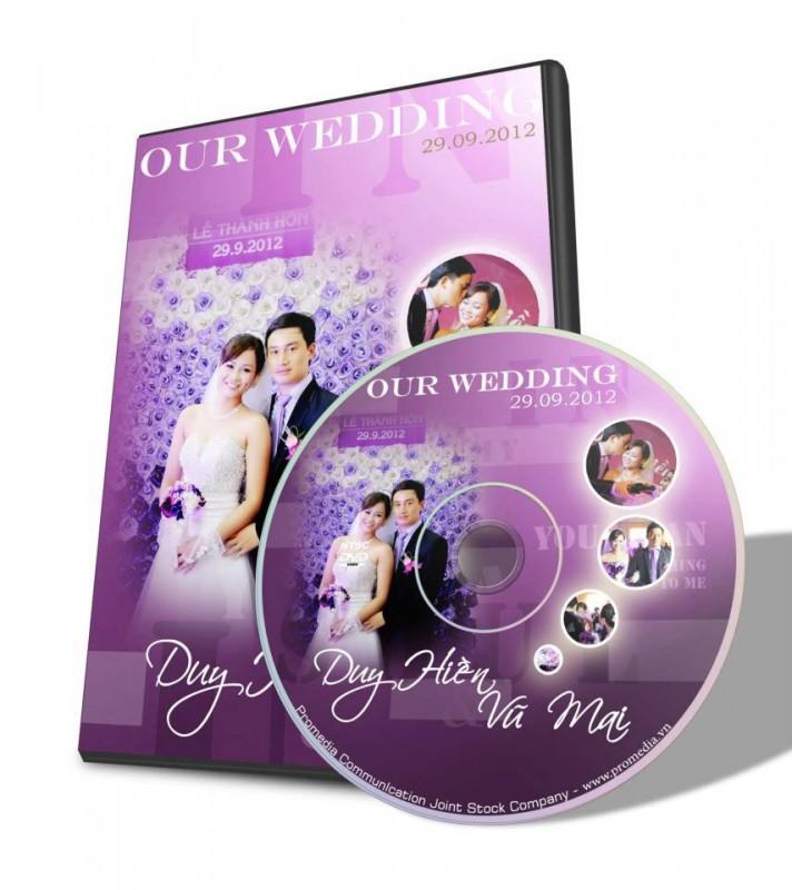 DVD đĩa cưới