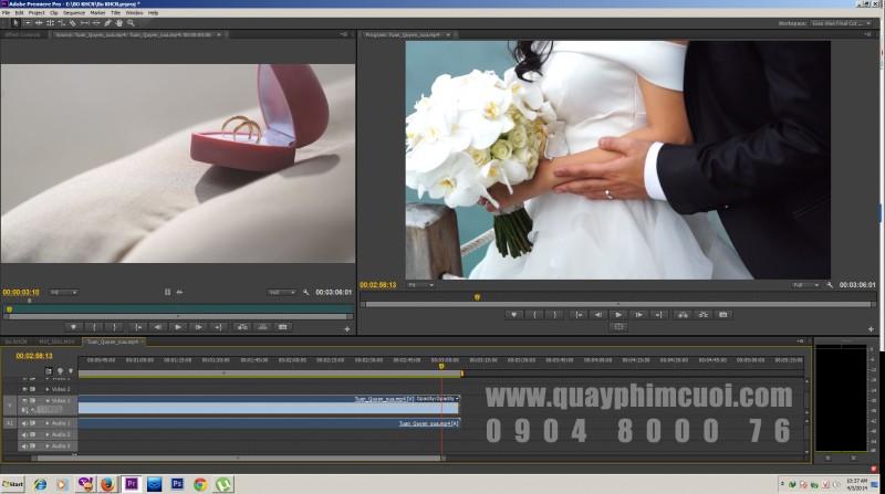 Dựng phim cưới HD